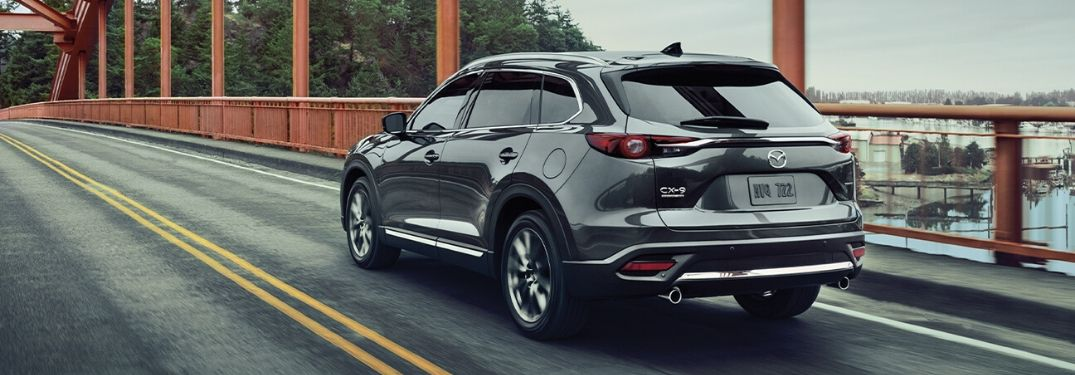 2020 Mazda CX-9 on bridge