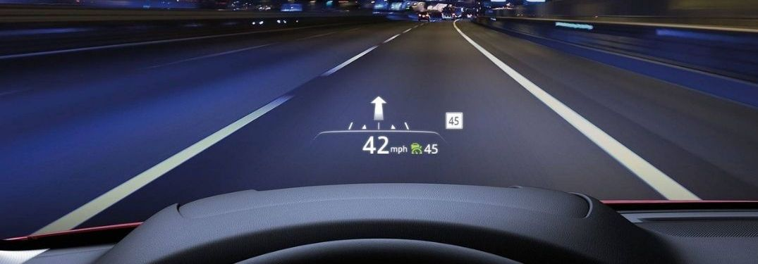 Which 2020 Mazda Vehicles Have Heads Up Displays