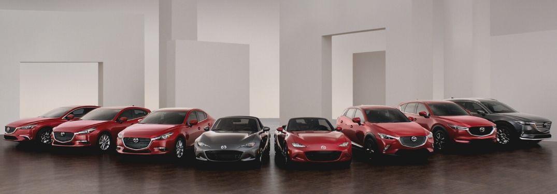 2020 Mazda lineup