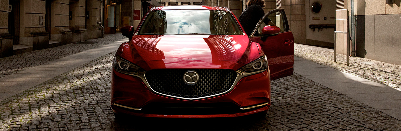 2020 Mazda6 Standard and Available i-ACTIVSENSE® Safety Features