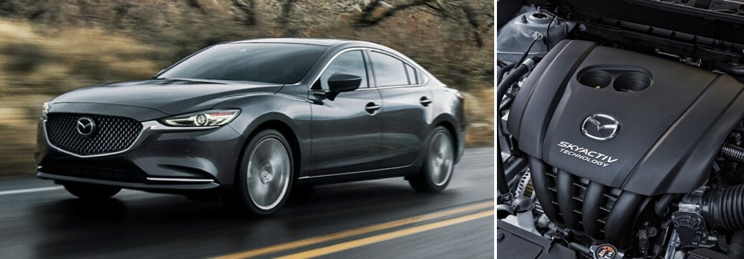 Mazda6 with turbocharged SKYACTIV® engine