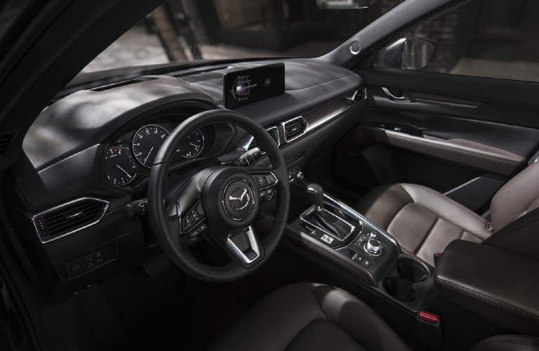 2012 Mazda CX-5 interior dashboard and steering wheel