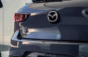 2021 Mazda3 2.5 Turbo Hatchback rear badging