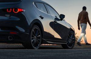2021 Mazda3 2.5 Turbo Hatchback side view