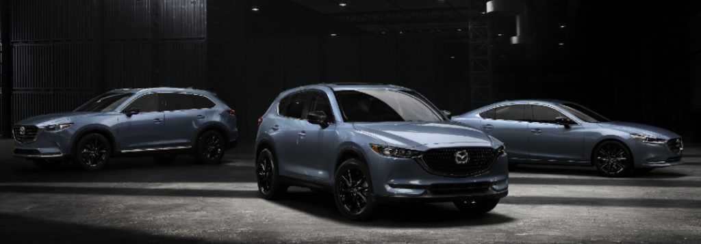 2021 Mazda Carbon Edition lineup