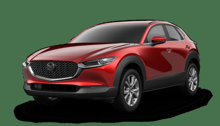 2021 Mazda CX-30 Soul Red Crystal Metallic