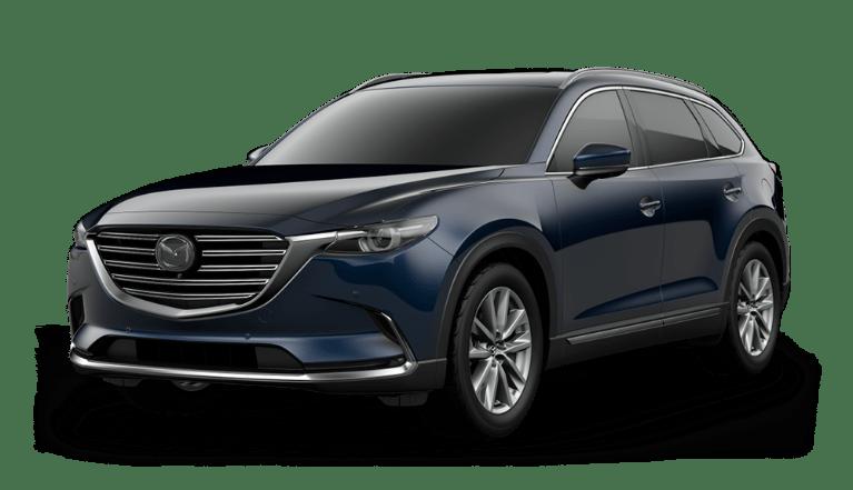 2021 Mazda CX-9 Deep Crystal Blue Mica