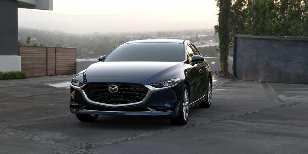2021 Mazda3 Sedan Deep Crystal Blue Mica