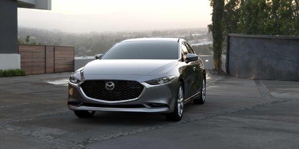 2021 Mazda3 Sedan Machine Gray Metallic