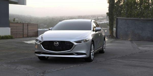 2021 Mazda3 Sedan Sonic Silver Metallic