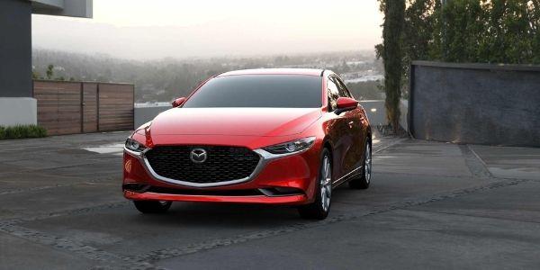 2021 Mazda3 Sedan Soul Red Crystal Metallic