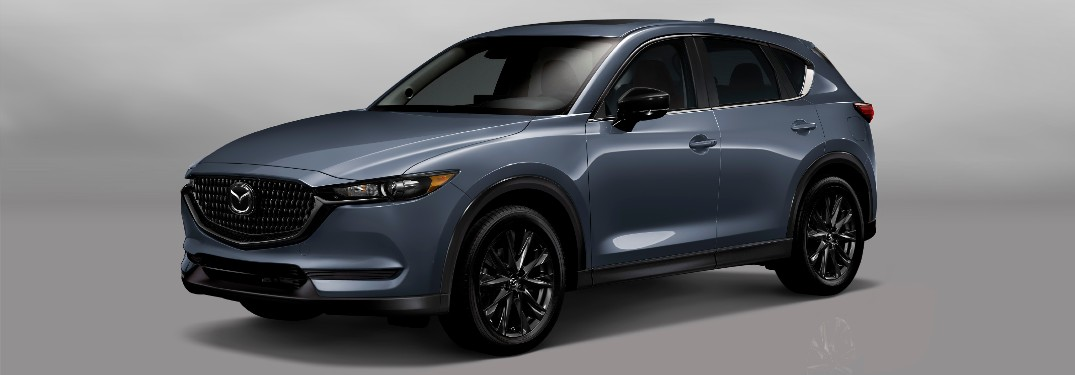 2021 Mazda CX-5 Carbon Edition in new Polymetal Gray color