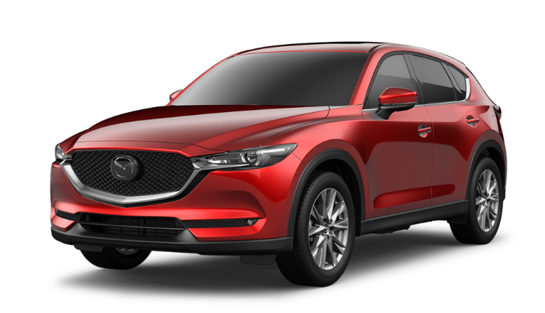 2021 Mazda CX-5 in Soul Red Crystal Metallic