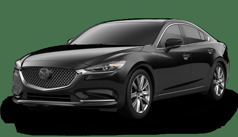 2021 Mazda6 in Jet Black