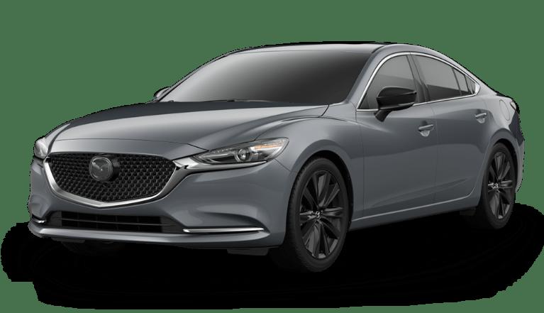 2021 Mazda6 in Polymetal Gray Metallic