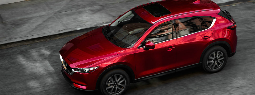 2017 Mazda CX-5 with moonroof
