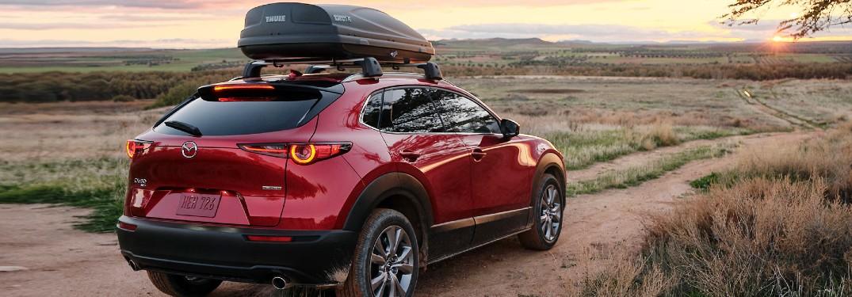 2021 Mazda CX-30 on dirt path