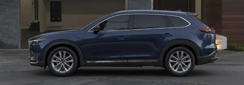 2021 Mazda CX-9 in Deep Crystal Blue