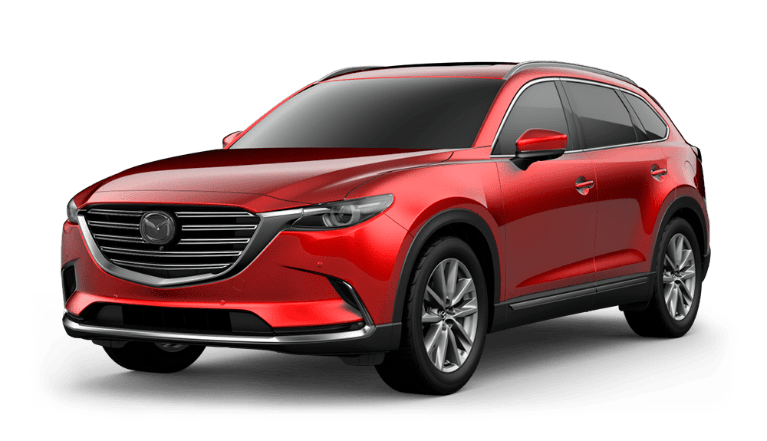 2021 Mazda CX-9 in Soul Red Crystal Metallic