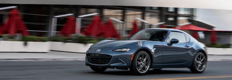 2021 Mazda MX-5 Miata on city street