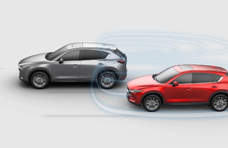2021 Mazda CX-5 Blind-Spot Monitoring System