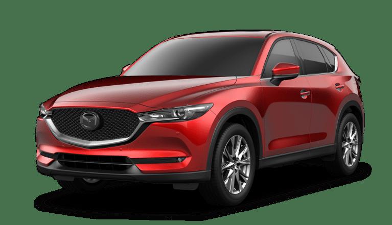 2021 Mazda CX-5 Signature model transparent background