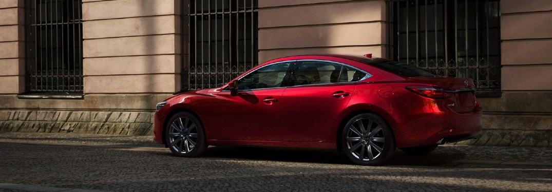 2021 Mazda6 on city street