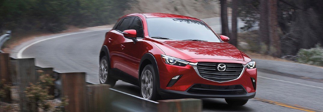 2021 Mazda CX-3 Cargo Volume and Equipment