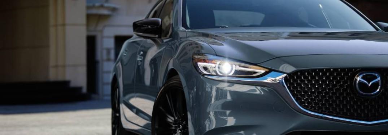 Go Turbo with the 2021 Mazda6 Sedan at Gwatney Mazda