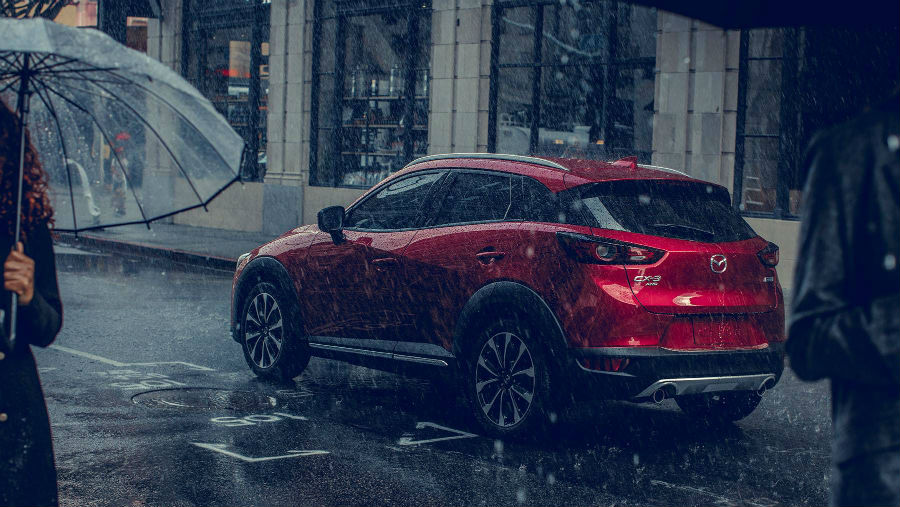 2019 Mazda CX-3 Exterior Driver Side Rear Profile