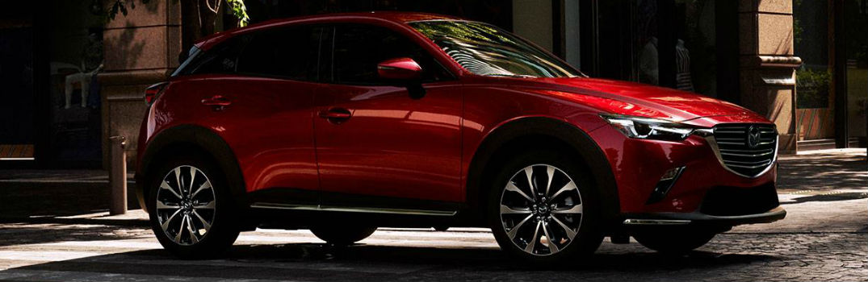 2019 Mazda CX-3 Exterior Passenger Side Front Profile