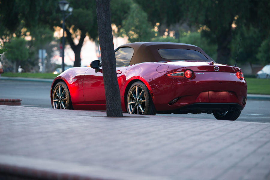 2019 Mazda MX-5 Miata Exterior- Side Rear Angle