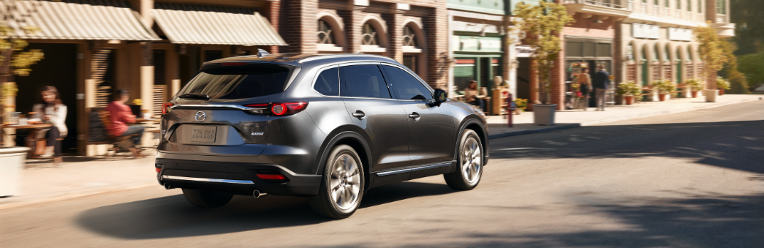 2019 Mazda CX-9 Exterior Passenger Side Rear Profile