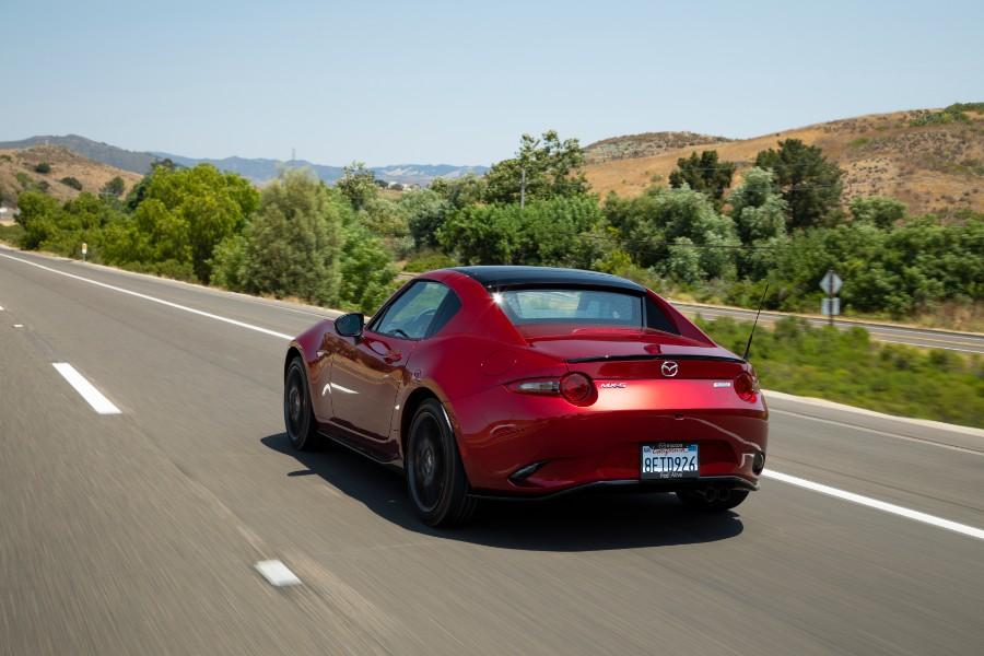 2019-Mazda-MX-5-Miata-Red-Exterior-Driver-Side-Rear-Angle
