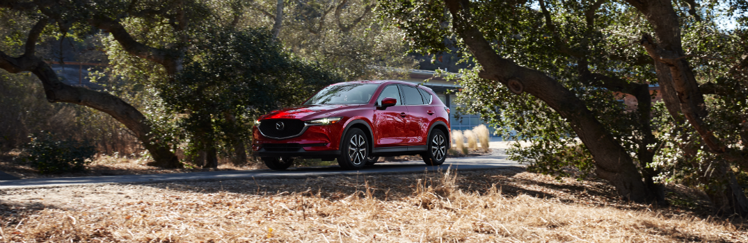 2018 Mazda CX-5 Exterior Driver Side Front Angle