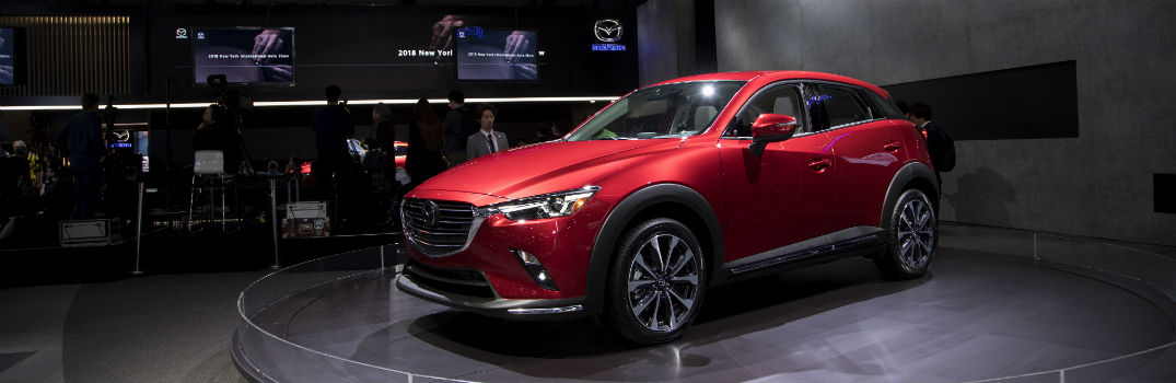 2019 Mazda CX-3 Exterior Driver Side Front Profile at NYIAS