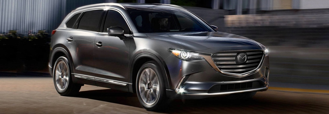 2019 Mazda CX-9 Exterior and Interior color options