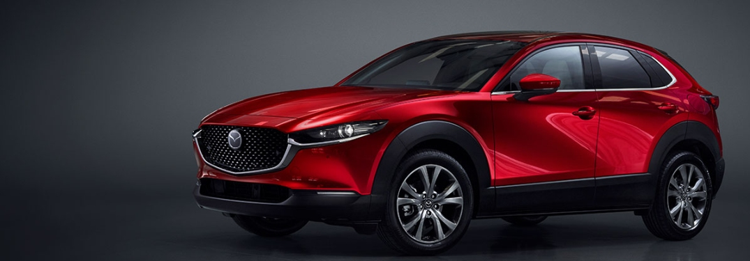 The newest Mazda compact crossover SUV