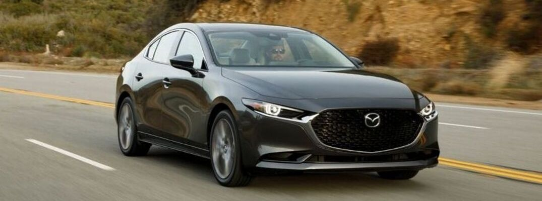 What Interior and Exterior Color Options Are Available on the 2019 Mazda3 Sedan?