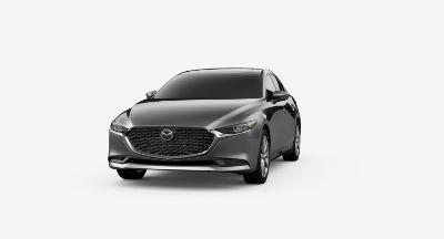 2020 Mazda 3 Sedan Machine Gray Silver Metallic