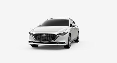 2020 Mazda 3 Sedan Snowflake White Pearl Mica