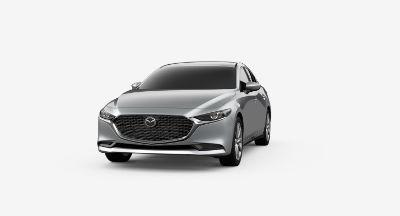 2020 Mazda 3 Sedan Sonic Silver Metallic