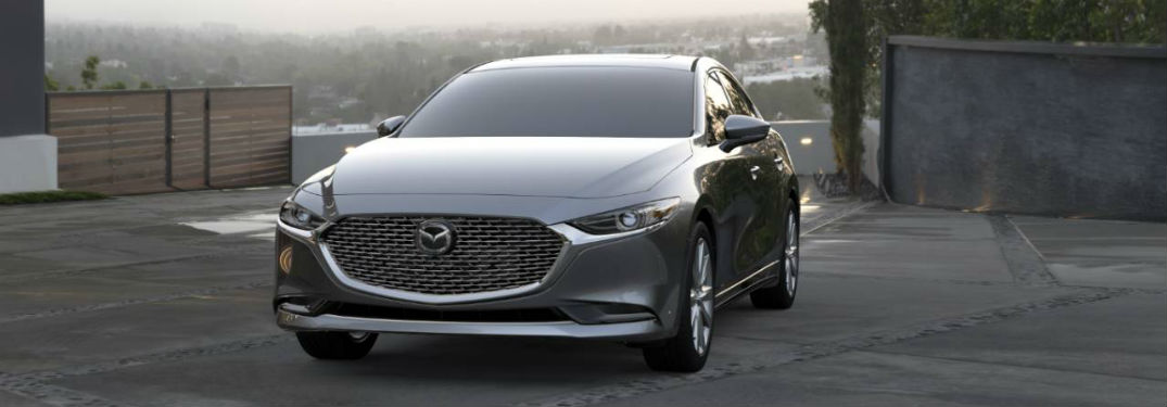 What are the interior and exterior color options for the 2020 Mazda3 Sedan?