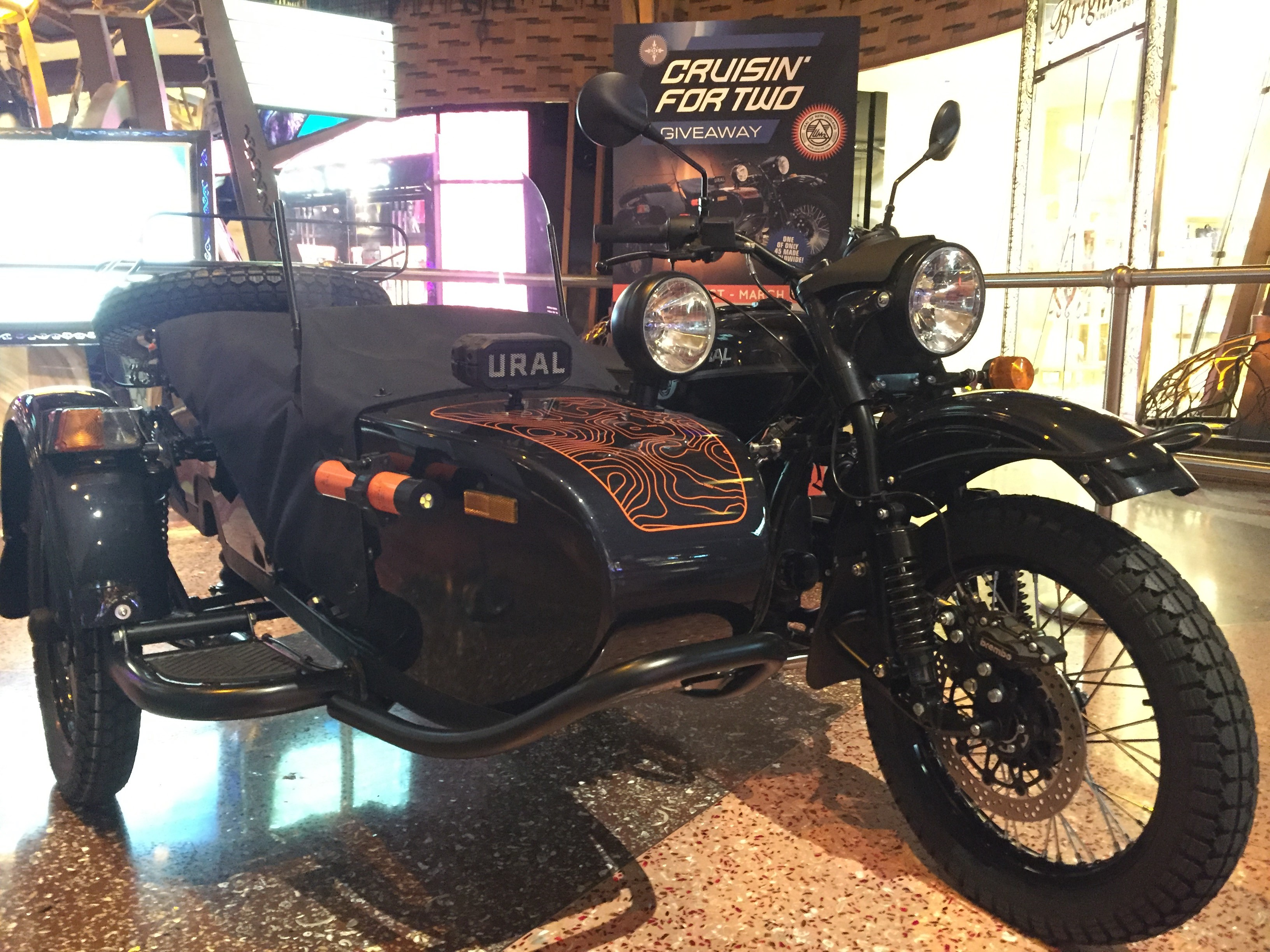 Win a Limited Edition Ural Baikal