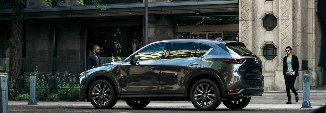 2019 Mazda CX-5 parked in the city