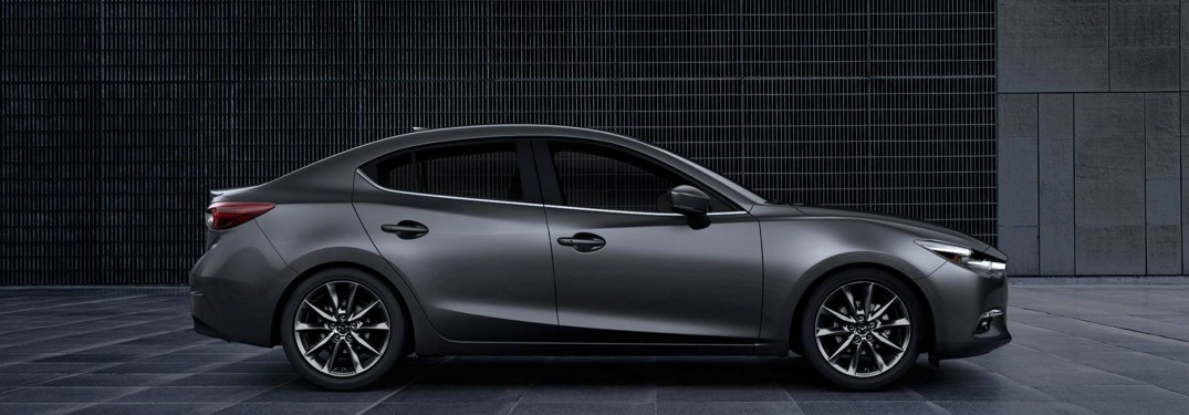 2018 Mazda3 parked in a lot