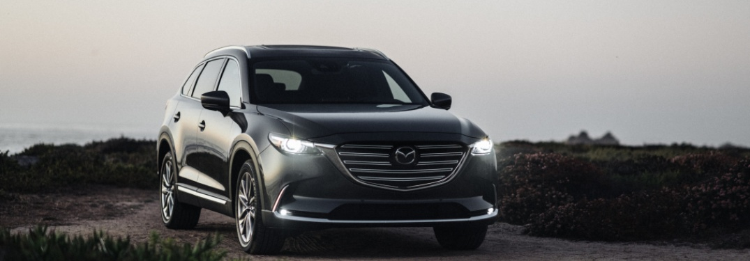 2020 Mazda CX-9 parked in a field