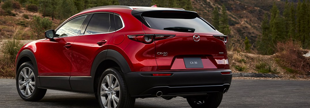 2020 Mazda CX-30 parked in a parking lot