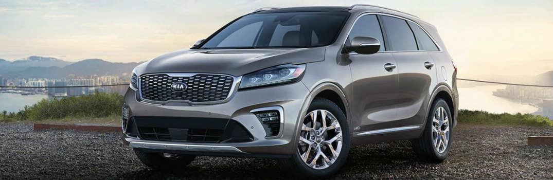 2019 Kia Sorento parked outside at dawn