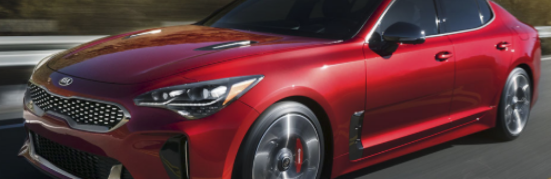 2019 Kia Stinger parked outside